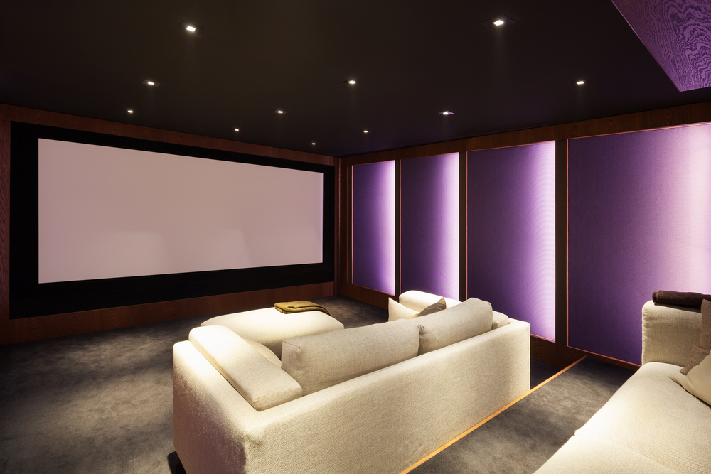 Home Theater Part 3 – Lighting and Furniture